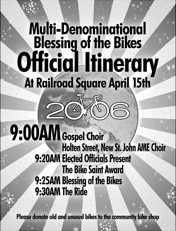 2006 Blessing of the Bikes Poster
