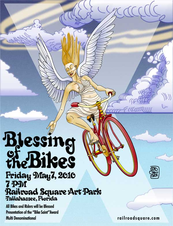 2010 Blessing of the Bikes Poster