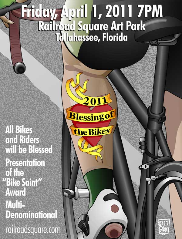 2011 Blessing of the Bikes Poster