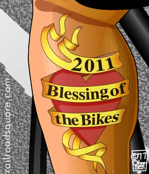 2011 Bike Saints spoke card
